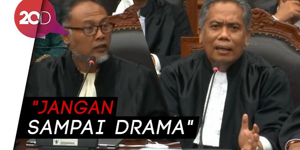 Drama BW Di Sidang MK Disentil Luhut Pangaribuan. BW Panas, Luhut Tertawa