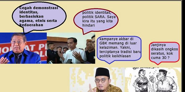 SBY Cemas Politik Identitas, TKN Ajak Demokrat di Kampanye Inklusif