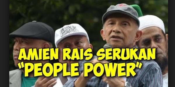 """Jiwa Bar-Bar Amien Rais Soal Ancaman """"People Power"""", MK: Penghinaan Terhadap Peradilan!"""