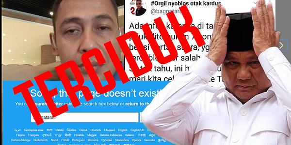Bagus Bawana Putra (Kornas) Prabowo Pembuat  Voice Chat 7 Kontainer, Resmi Terciduk! Bravo Polri!