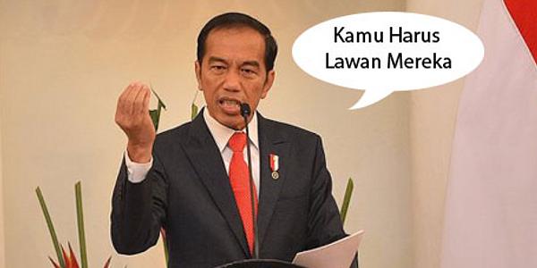 Viral! Jokowi Minta Pengikutnya untuk Melawan, Kamu Harus Ikutan!