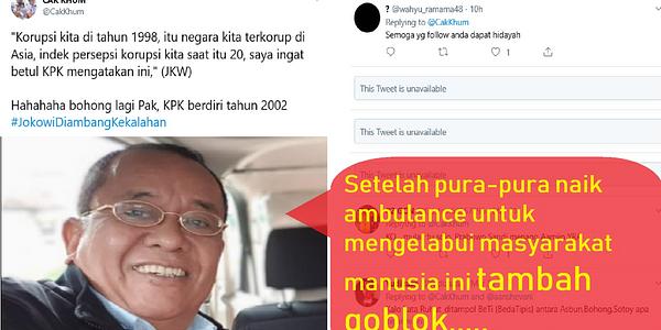 Pendukung Prabowo Makin Goblok, Termasuk Said Didu