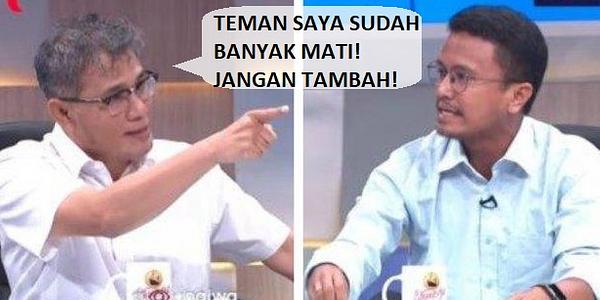 Budiman Sudjatmiko Jawab Faldo: TEMAN SAYA SUDAH BANYAK MATI! JANGAN TAMBAH!